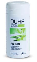 Lingettes désinfectante FD 350  Boîte de 110 lingettes Dürr Dental 166605