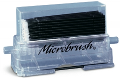 Pinceaux applicateurs Microbrush X  Le kit de 100 applicateurs et 1 distributeur Microbrush 166916