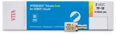 VitaBlocs TriLuxe forte pour CEREC/inLab  Taille TF-12 Vita 171152