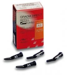 Composite microhybride Gradia Direct La boîte de 20 compules de 0,24 g. GC 165043