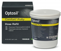 Silicone réticulant par condensation Optosil Putty Système Comfort  Heraeus Kulzer 167458