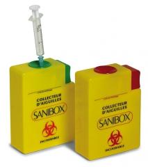 Collecteur d aiguilles   Sanibox 169798
