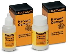 Ciment à l'oxy-phosphate de zinc  Le flacon de 100 g de poudre Harvard 165212