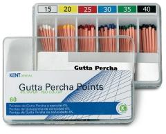 Pointes de Gutta ISO à conicité 4 et 6 %  Kent Dental 168392