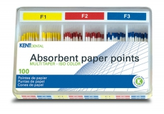 Pointes papier MultiTaper  Kent Dental 167695