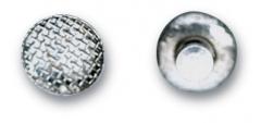 Boutons linguaux à coller Ronde G&H 160762