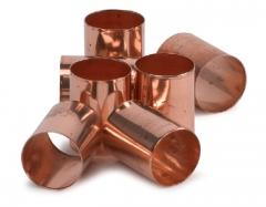 Bagues de cuivre  Boîte de 12 bagues de cuivre dures PD 160460
