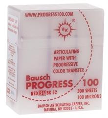 Papier à articuler Progress 100®  Papier à articuler Progress 100® Rouge Bausch 167830