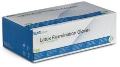Gants d examen poudrés en latex  Kent Dental 164779