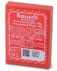Papier à articuleren  Strips Arti-Check®   Bausch 167820