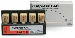 IPS Empress CAD Blocs LT - Basse Translucidité  Ivoclar Vivadent 166035