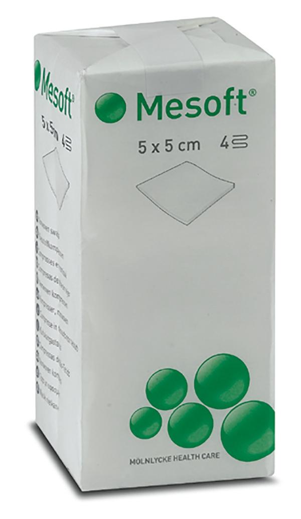 Compresses non-tissées, non stérile Mesoft   Mölnlycke 161673