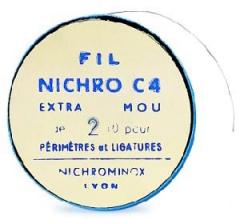 Fils de ligatures extra mou  Nichrominox 163291