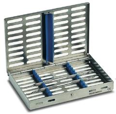 Cassettes de stérilisation pour 10 instruments  Nichrominox 161176