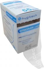 Hygicover gaine de protection en rouleau Gaine de protection pour contre-angles, pièces à main et seringues air/eau 55 mm Hygitech 165445