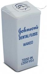 Fil dentaire de soie  Le distributeur de fil de soie vide Johnson & Johnson 162619