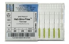 Racleurs Heli-Giro-Files® Longueur 25 mm Micro Mega 165229