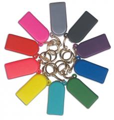 Boîtes à élastiques porte-clés Couleurs classiques G&H 160720