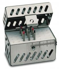 Endo cassette avec stérimètre Endo 32 perforations Nichrominox 162928