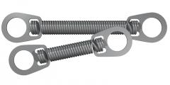 Ressorts NiTi fermés avec œillets Ressorts longueur 9 mm G&H 169561