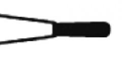 Fraises diamantée football flamme à l extrémité ogivale  Kent Dental 164432