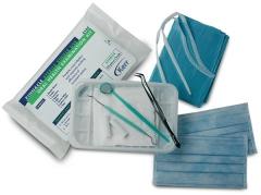 Kit d instruments stériles d examen oral   Kerr 168115