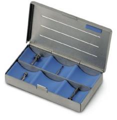 Cassettes à compartiments   Nichrominox 161178
