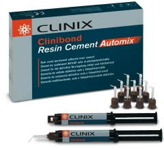Clinibond Resin Cement Le coffret Seringues Automix Clinix 161520
