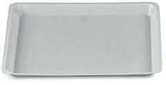 Plateaux jetables lisses sans compartiment  medibase 168266