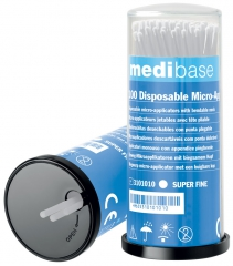 Micro-applicateurs jetables Super-Fin medibase 177367