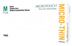 Micro-Touch Micro-Thin White Nitrile  Ansell 181331