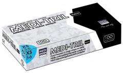 Gants nitrile medi-tril noir  Medistock 182282