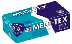 Gants en latex poudrés MEDI-TEX  Medistock 182261
